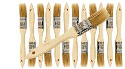 12 Pk- 1 inch Chip Paint Brushes for Paint, Stains,Varnishes