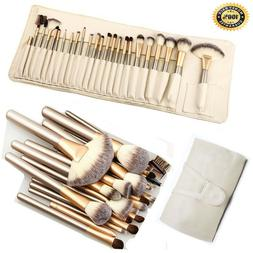 32pcs pro makeup brush set powder foundation