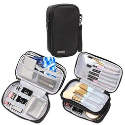 Teamoy Travel Makeup Brush Bag, Professional Cosmetic Artist