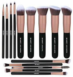 BS-MALL Makeup Brushes Premium Synthetic Foundation Powder C