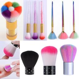 Cleaner  UV Gel Nail Art Remover Brush Tools Powder Dust Dir