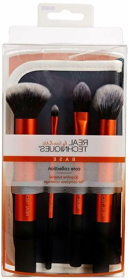 Real Techniques Core Collection Design Makeup Brushes Set wi
