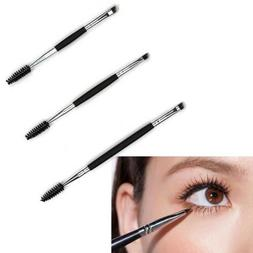 Double Sided Eyebrow Makeup Brush With Spoolie