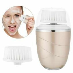Electric Face Brush Skin Cleaner Face Exfoliating Pores Clea