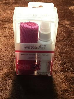 REAL TECHNIQUES Instant Brush Cleaner and Towel
