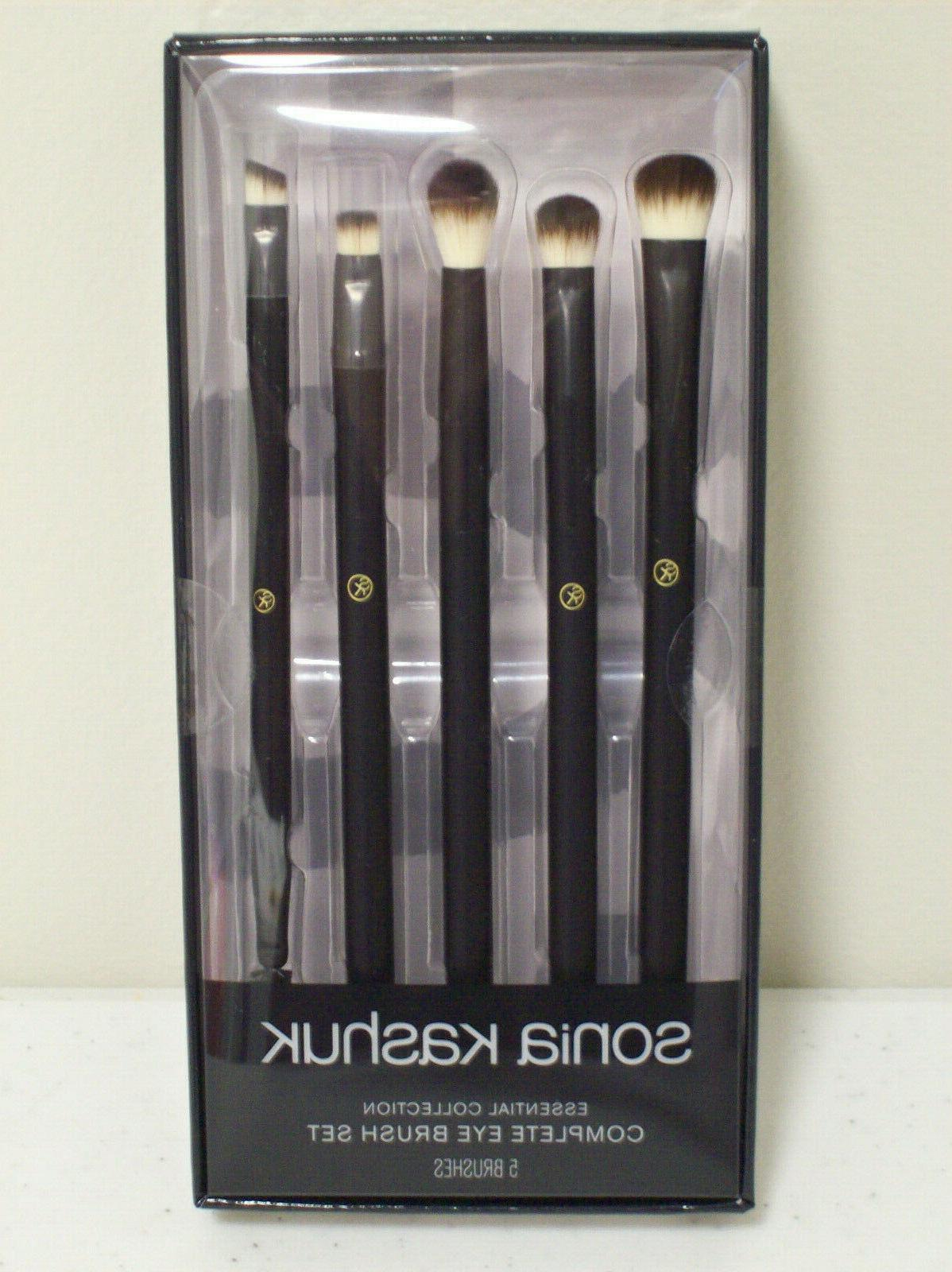 complete eye brush set essential collection 5