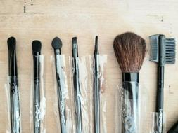 M.A.C Leather Wrap Makeup Brushes