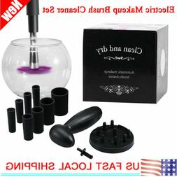 Make Up Brush Electric Cleaner Dryer Sets Cosmetic Auto Clea