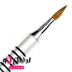Pure Color #5 3D Sculpture Brush for Acrylic Powder, nails,