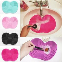 Silicone Makeup Brush Cleaner Washing Scrubber Board Cosmeti