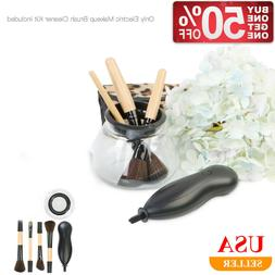 Electric Make-Up Brush Cleaner Dryer Cosmetic Auto Cleaning
